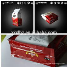 Biodegradable plastic stand up pouch zipper bag for food packaging