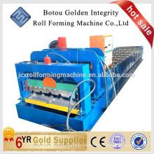 Machine de formage de rouleaux de tuiles glacés automatiques