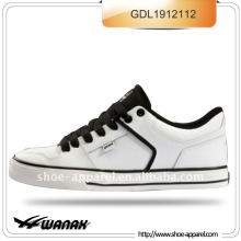 blanc pu chaud vente de chaussures de skate