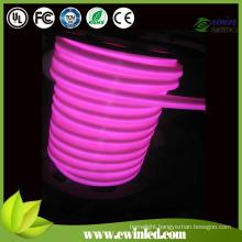 AC220V LED Indoor Decorative Neon Rope Light Pink
