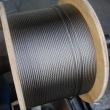 Конструкция кабеля 7x7 из нержавеющей стали 3 мм AISI304