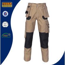 Multi-funktionelle Taschen Duratex Baumwolle Khaki Cargo-Hosen
