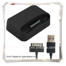 BRAND NEW Premium Sync Dock Charger para Apple iPhone4 4G 4S Docking Stand Station