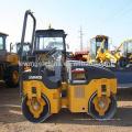 Rolo de estrada vibratório XMR15S de 1,5 toneladas mini