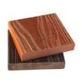 wood plastic composite water resistant wood deck flooring
