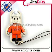 Cheap custom cell phone light charms for promotion