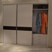 Mobília moderna do quarto que desliza / armário do Wardrobe da porta aberta (fonte de fábrica direta)