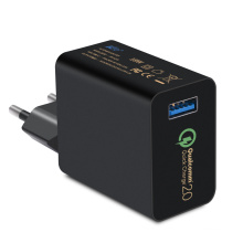 QC 2.0 USB Quick Charger para tabletas de teléfonos móviles