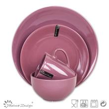 Multi-Color 16PCS Stoneware Tableware Set