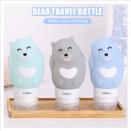 2018 Date Silicone Squeeze Fordable Folding Voyage Bouteille