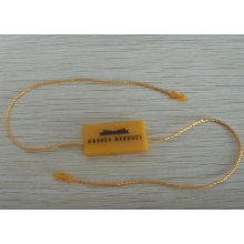 Seal Tag/Plastic Seal/Lacres PARA Roupa/ Lacre /Tag String /Hang Tag String /Plastic Seal Tag for Garments (BY80124)
