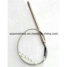Haste do aquecedor do cartucho do elemento de aquecimento elétrico do tubo (DTG-129)