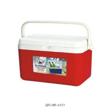 Caja plástica portátil del refrigerador 4L, caja del refrigerador de comida, caja más fresca