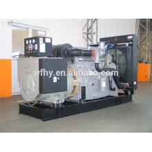 Générateur diesel triphasé de 500KVA Alimenté par Wudong Engine