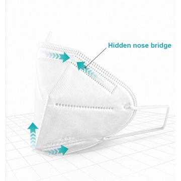 Chirurgische medizinische Einweg-Kn95-Maske für das Gesicht