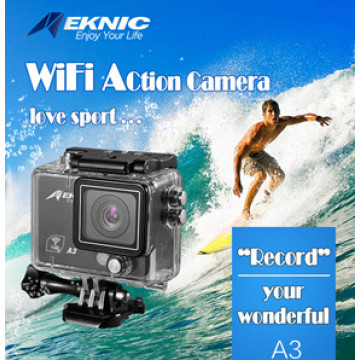 Gopro4 Dual Screen 2 Inch Ltps OLED LCD WiFi Action Camera