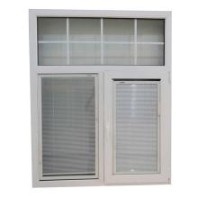 Persianas de PVC con ventana de vidrio