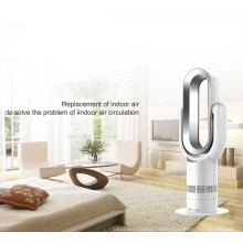 2019 Gros Mini PTC Céramique Oscillant Électrique Ventilateur Chaud et Froid avec Affichage Numérique et Télécommande