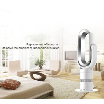 2019 Wholesale  Mini  PTC Ceramic Electric Oscillating Hot and Cool Fan with Digital display and Remote control