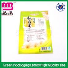 Paquetes de empaquetado al vacío del té verde del fabricante de encargo