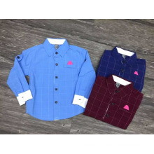 european and korean fashion boys shirt/cotton shirts for boys kids