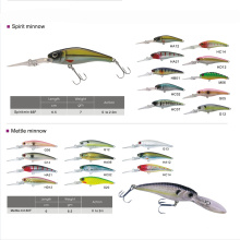 Free Shipping Custom Made Bass Bait Hard Minnow Fishing Lure