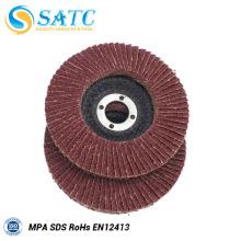 made in China 4 '' / 4.5 '' / 5 '' / 6 '' / 7 '' disco flap abrasivo Com Função Estável