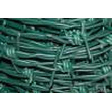 Galvanized PVC Barebd Wire. Can Custermed Barbed Wire