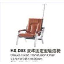 Chaise de transfusion fixe pour hôpitaux de luxe