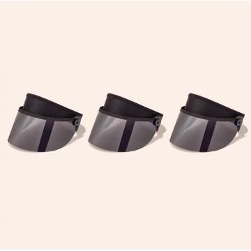 Short sun visor adjustable headband outdoor