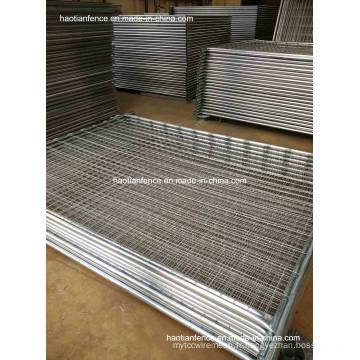 48mm Od. Panneau de clôture de température galvanisée robuste