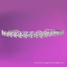 Fitas de couro branco flexíveis para mulheres