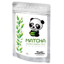 Matcha Super Pó de Chá Verde Estilo Japonês 100% Orgânico UE Nop Jas Certificado Small Order Disponível (M1)