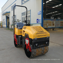 Sheep Foot Construction Machinery Compactor Price Double Drum Vibratory Road Roller FYL-880