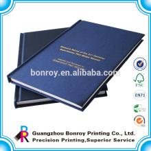 barato cadernos de capa dura de jornal de capa dura de tecido A4 A5