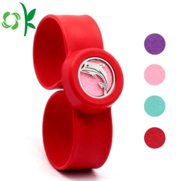 Promosi Scented Watch Strip Silicone Slap Bracelet