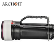 Archon Diving Video Light LED Torch Lampe de poche 100watts étanche jusqu'à IP68