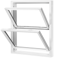 Aluminum Double Hung Vertical Sliding Window