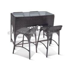 Unique Rattan Bar Set Furniture Tables