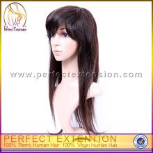 Cheap Brazilian Realistic Hairline Virgin Hair Silk Base Full Lace Wig