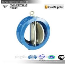 Grelha ferro wafer tipo dupla placa esgoto válvula de retenção preço yahoo