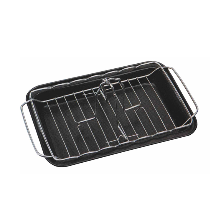 chicken rack and tray