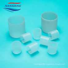 Plastic 25mm pp packing Raschig ring with Virgin polypropylene material