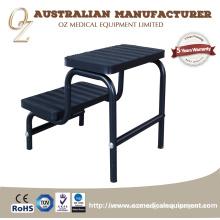 Step Up Footrest Stool Medical Footstool Hospital Iron Step Footstool