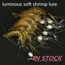 Isca macia de camarão luminosa de melhor qualidade em estoque
