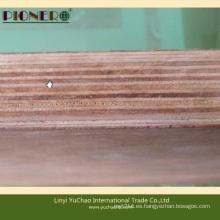 Contrachapado Keruing de madera dura tropical para pisos de contenedores
