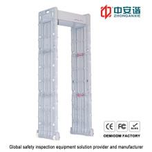 Detector de metales resistente a la intemperie de alta sensibilidad con indicador de alarma