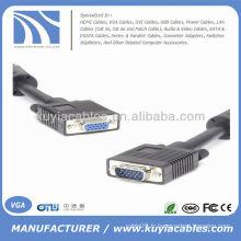 Câble d'extension VGA de 30 pieds SVGA VGA mâle à femelle 10M pour PC Moniteur Projecteurs TV