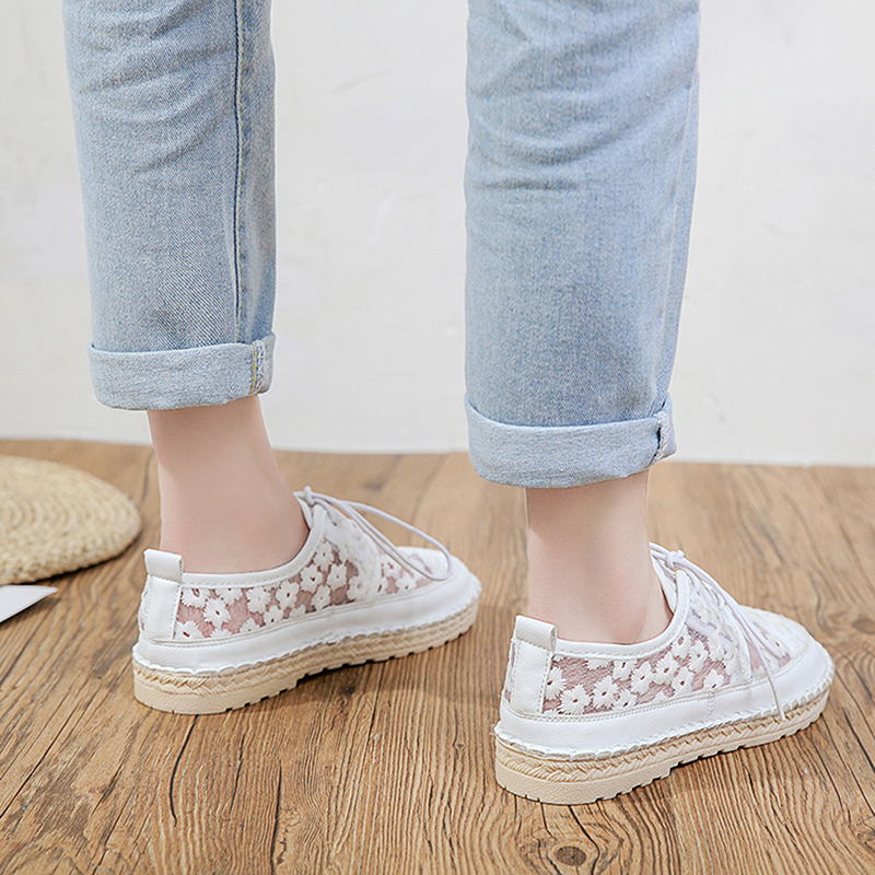 Lace Shoes Embroidery Patch