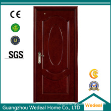 Weiße Farbe gemalte Holztür für Hotelprojekt (WDHO56)